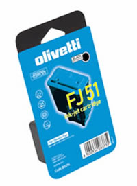 Olivetti FJ51 black ink cartridge