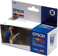 Epson T008 colour ink cartridge