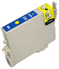 Epson compatible T0444 yellow ink cartridge