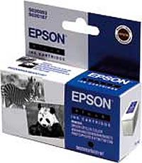 Epson T050 black ink cartridge
